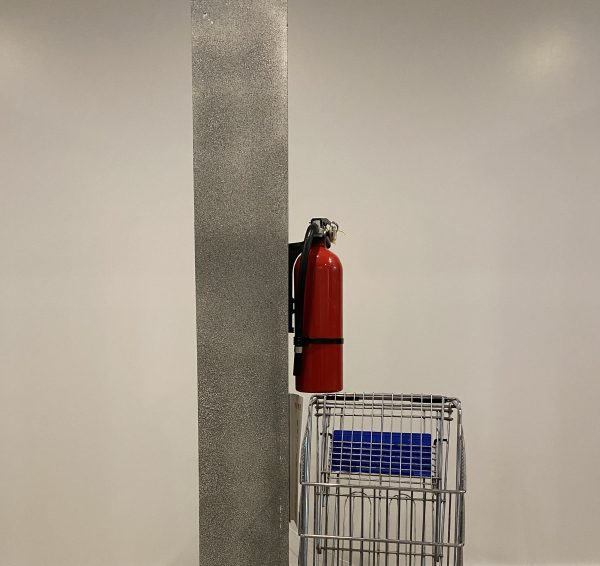 Extinguisher and Shopping Cart with VE Side