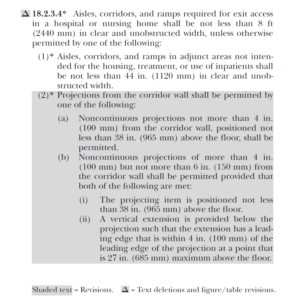 NFPA 101 Life Safety Code - 2018 Edition - 18.2.3.4